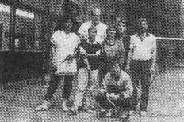 Mannschaft I 1987