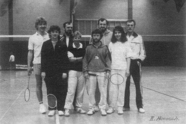 Mannschaft II 1987