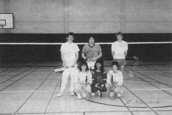 Mannschaft III 1987