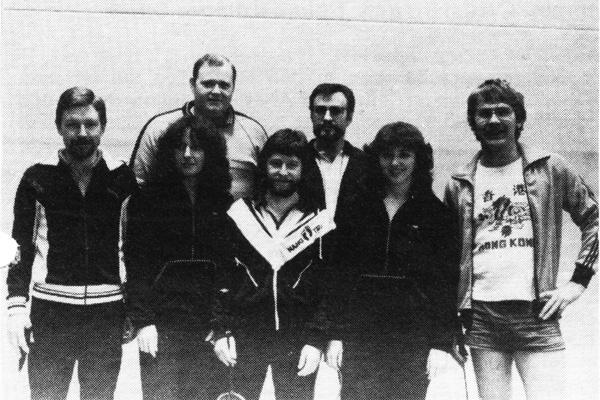 Mannschaft 1984/85