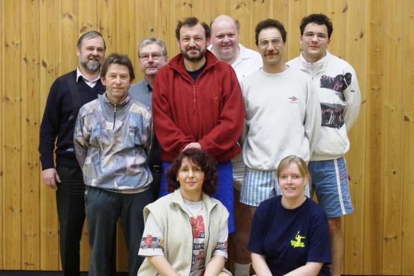 Mannschaft 2000/01